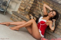 Sammy braddy  sammy xmas. <p>Its almost that time!!!!!! Sammy gets us all into the Xmas spirit with a pleasant Mrs Santa outfit. She wants to know if you have been a bad boy this year???????????</p>